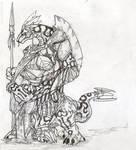 Echiszer warrior sketch2
