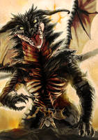 Duraxx, The Dragonlord by riard