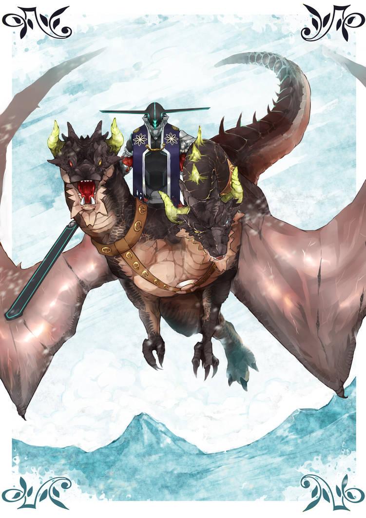 Lohen, the Dragon knight by riard