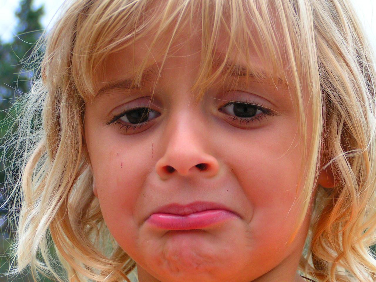 sad child by madamBesson on DeviantArt