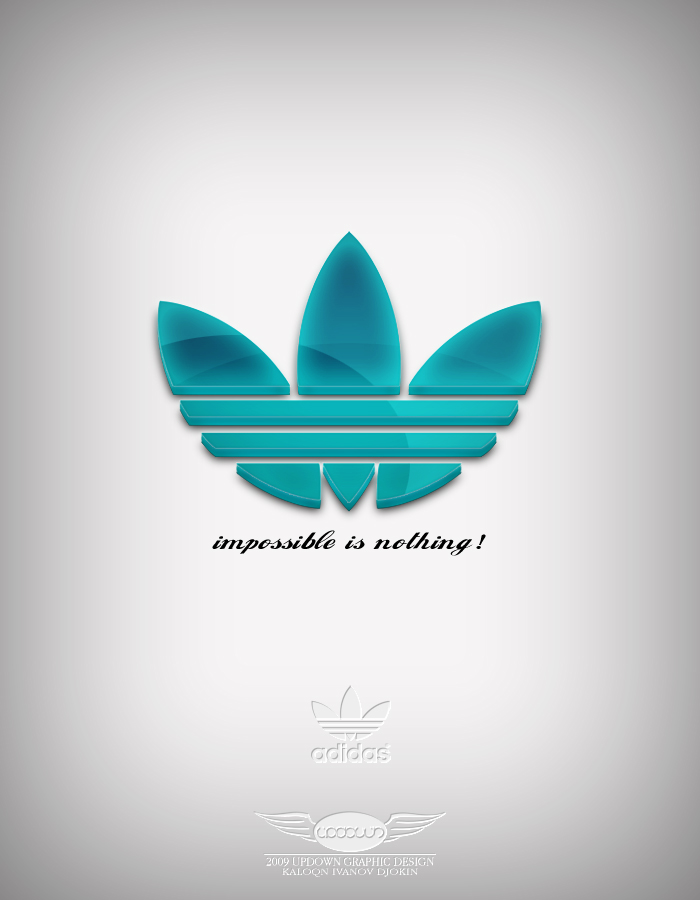 Adidas Three Dimensional by PhotoUpDown