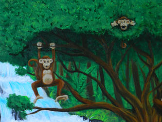 Monkeys - detail 3