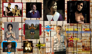 Silent Hill Cheryl Heather Alessa different ages