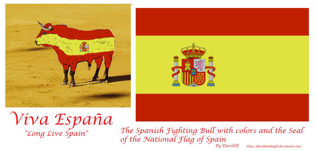 Fighting Bull with Spanish Flag colors by DarshDarkKnight ...