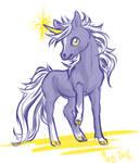 Sketch #1 Unicorn by northstardreams