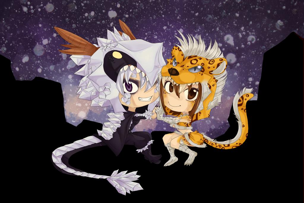 Halloweenies OTP by WatchHerFly