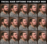 Facial Hair for Manly Men