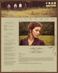 Sleepy Eyed Fox Website by jwcoffeeman