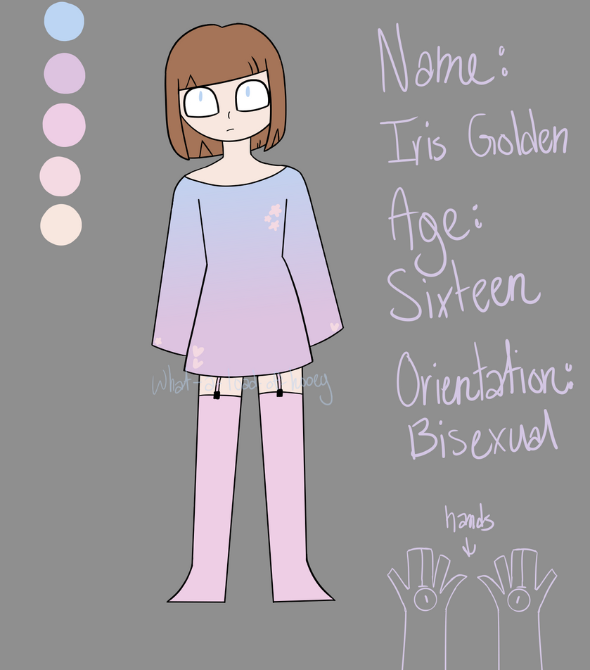 Iris Golden Ref Sheet By What A Load Of Hooey