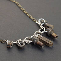 Steampunk Typewriter Necklace by Tanith-Rohe