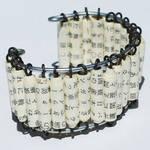 Japanese Paper Bead Bracelet