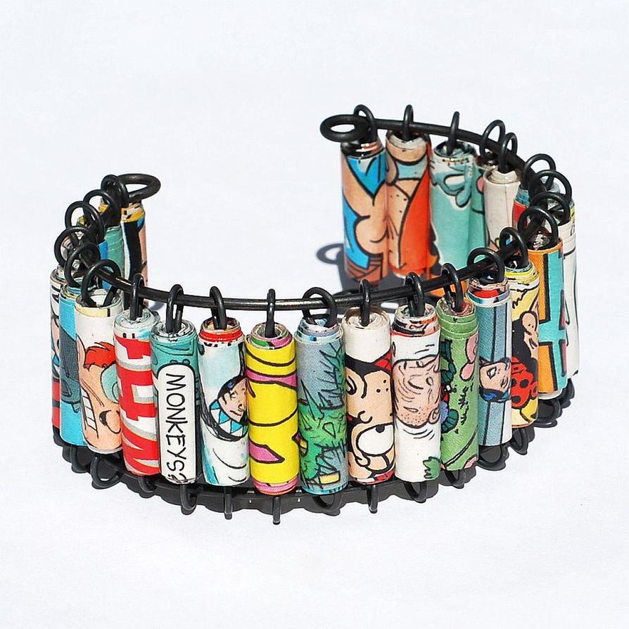 Handmade Bracelets on Etsy - Metal, fiber, beaded bracelets