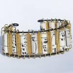 Guitar String Bracelet Brass and Music