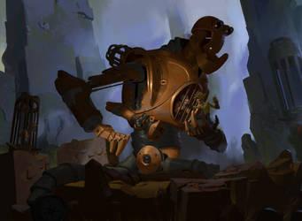 goblin - trapper mech