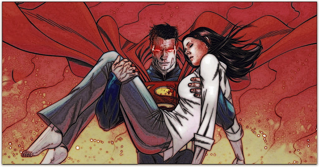 Superman and Lois Lane by RussiaNet on DeviantArt