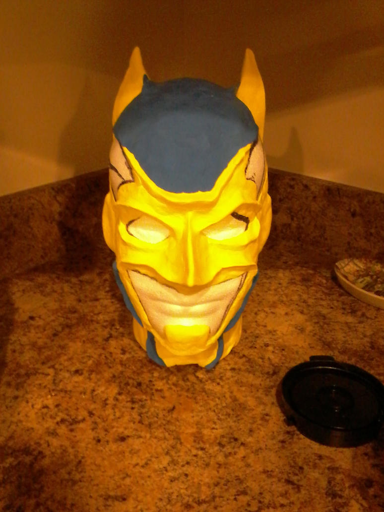 WIP Batman Cowl Sculpture by jronk13