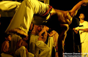 Capoeira martial art by jotachaves