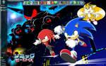 Sonic Heroes Desktop