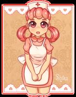 Nurse Joy - Pokemon by Shika-chan-art