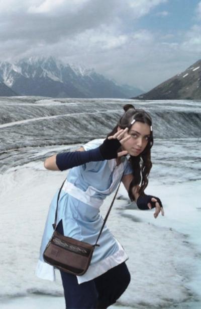 The power of aqua [Katara Cosplay] by Amiranne