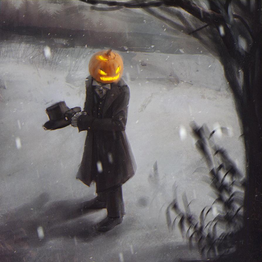 Pumpkinman by MissSwarm