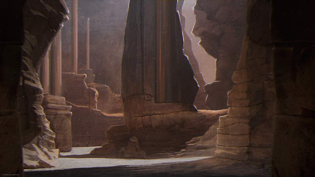 Ruins by MissSwarm