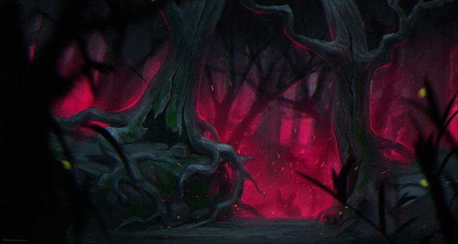 Forest by MissSwarm