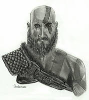 Kratos by Shaterasu