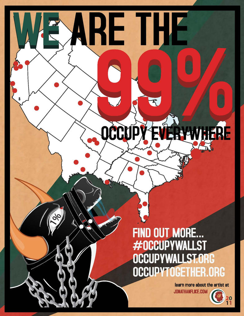 Occupy Everwhere by Trudooms