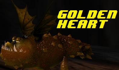 sod my dragons gronckle golden heart by overlygamed on deviantart
