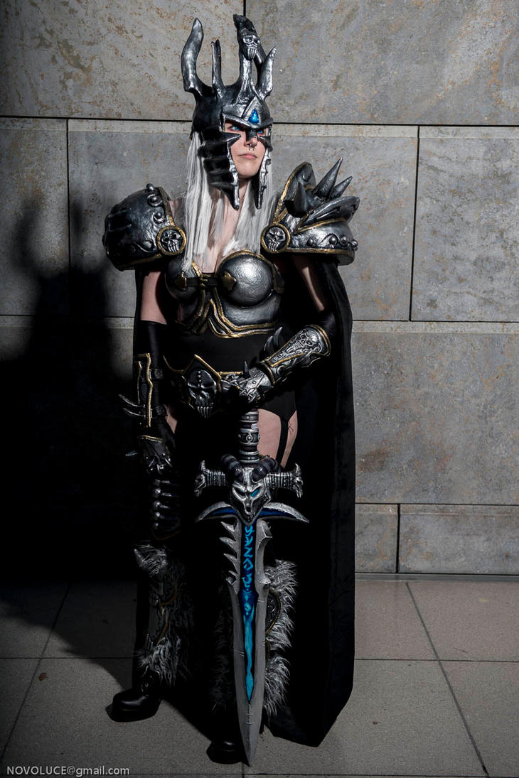 Lich king cosplay xxx naked image