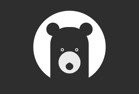 gravit designer tutorial how to draw a bear icon by
