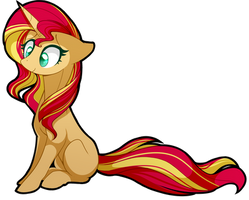 Sunset Shimmer by uunicornicc