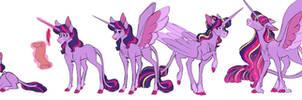 The Evolution of Twilight Sparkle