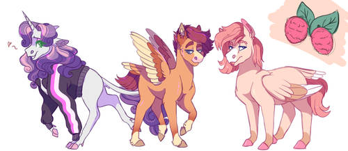 The Scootabelle Family by uunicornicc