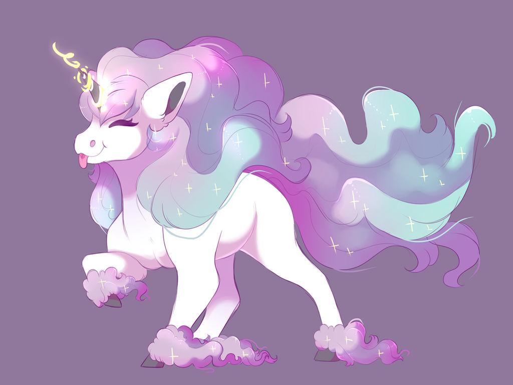 Galarian Ponyta By Uunicornicc On Deviantart