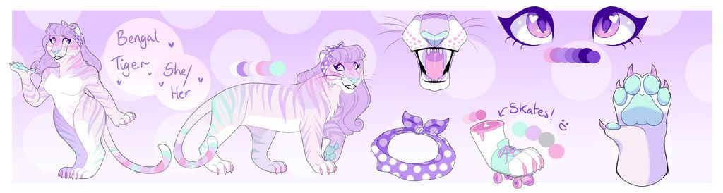 Mood Board Adopt Result 7 - Feline Diner Tiger