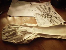 Hand Armature Process -A