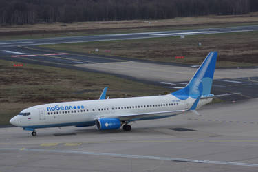 Pobeda Airlines Boeing 737 8MC