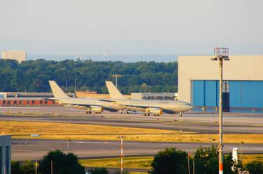 2 German Airforce Airbus A310-304MRTT