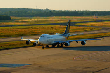 United Parcel Service - UPS Boeing 747-4R7F-SCD