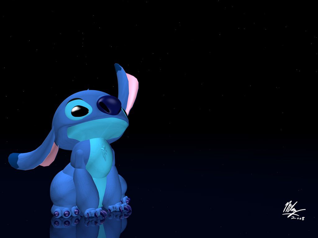 stitch 3d look at the stars by stitchfan on deviantart