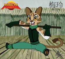Kung Fu Panda - Mei Ling by Stitchfan