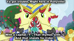 Trouble in Ponyville