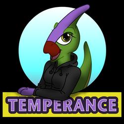 Temperance Badge by Stitchfan