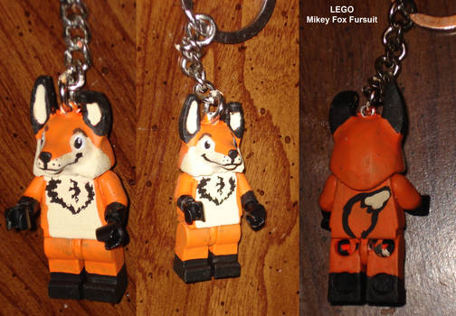 LEGO Custom minifigure - Mikey Fox Fursuit