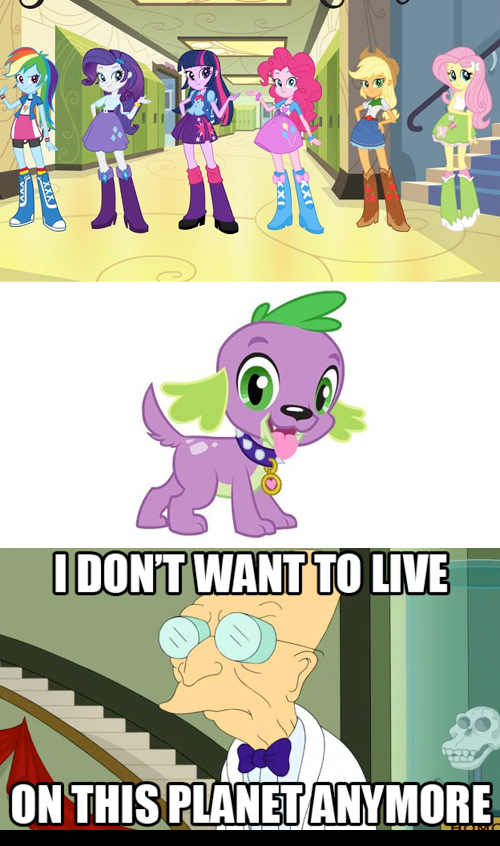 MLP Meme - Equestria Girls by Stitchfan
