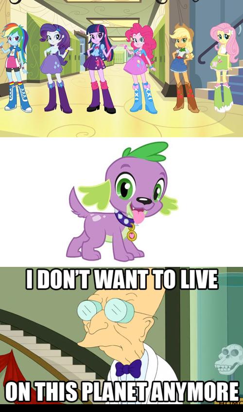 MLP Meme - Equestria Girls by Stitchfan