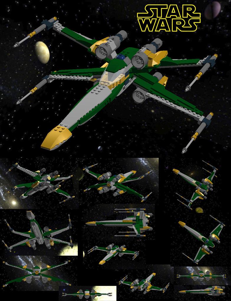 Lego X-Wing - Jade by Stitchfan