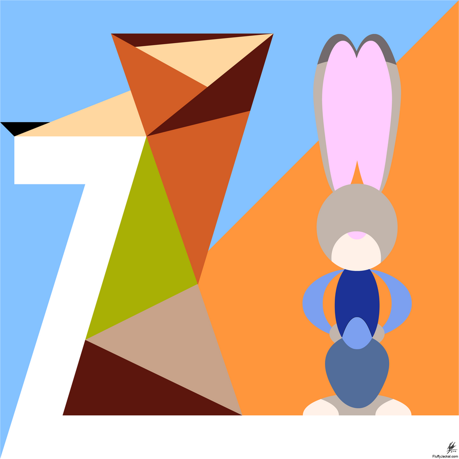 Zootopia minimal by stitchfan on deviantart for Minimal art 2016